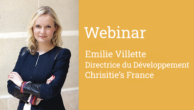Photo d'Emilie Villette intervenante du webinar en formation continue Dauphine Executive Education Dauphine-PSL