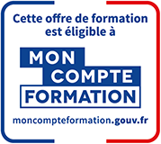 Logo du CPF Compte Personnel de Formation (Dauphine Executive Education, formation continue de l'Université Paris Dauphine-PSL)